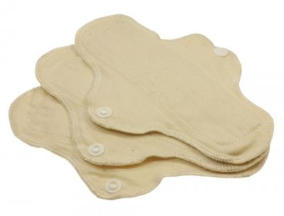 Blümchen normalbind - økologisk bomuldstwill - 3 stk