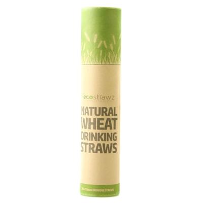Eco-Strawz - hvede sugerør - 50 stk - korte