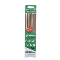 Maistic- hvede sugerør - 30 stk - lange