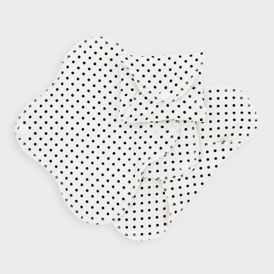 Imse Vimse økologisk stofbind mini -black dots 3 pk
