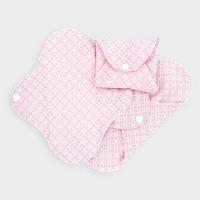 Imse Vimse økologisk stofbind mini -pink halo SLIM 3 pk