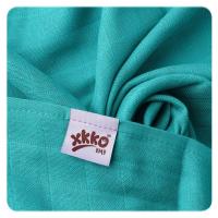 XKKO bambus stofbleer - 3 stk - turquoise
