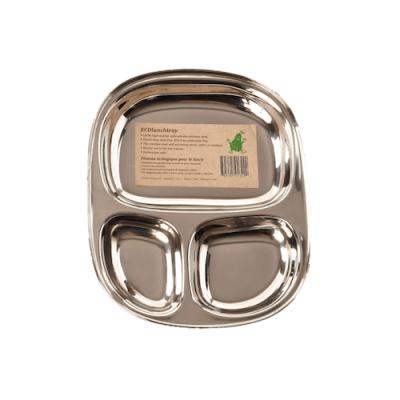Pulito stål tallerken - stor