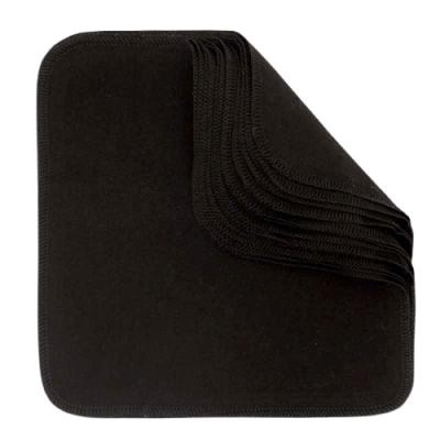 Imse Vimse - økologiske flonelsvaskeklude 12pk - black