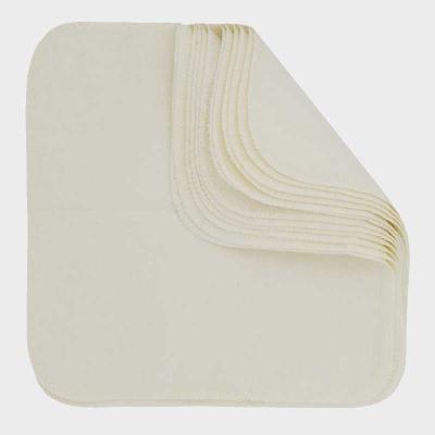 Imse Vimse - økologisk flonelsvaskeklude 12 stk - neutral