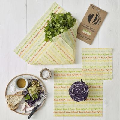 Vegan Food Wrap - stor pakke - 5 stk