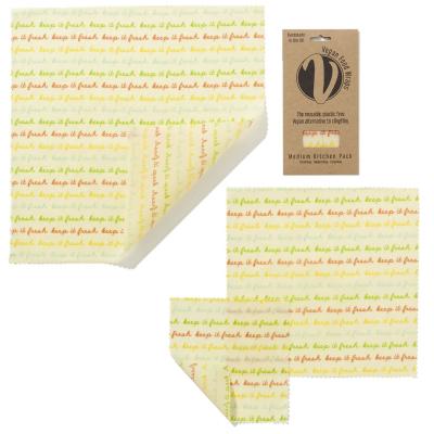 Vegan Food Wrap - medium pakke - 3 stk
