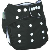 Little Lamb OSFA lommeble - all black