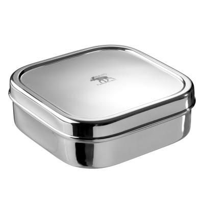 Pulito pure cube madkasse i rustfrit stål