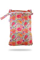 Petit Lulu wetbag med lynlås og strop - colourful orient