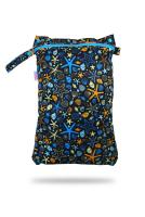 Petit Lulu wetbag med lynlås og strop - ocean treasures