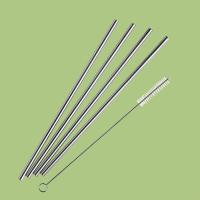 Pulito- sugerør i rustfri stål - normal - lange - 4 stk