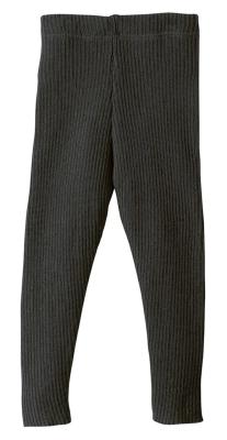 Disana strikkede leggings - økologisk uld - anthracite