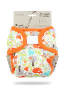 Petit Lulu XL cover - velcro - foxes