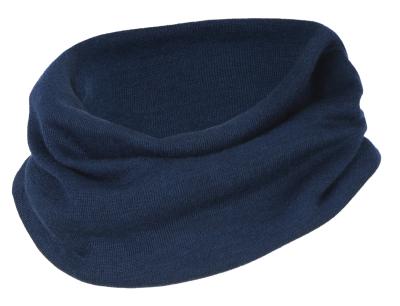 Engel halsedisse i uld / silke - navy