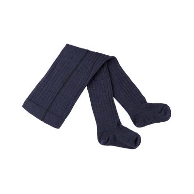 Pure Pure - øko uld strømpebukser - marine