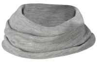Engel halsedisse i uld / silke - grå