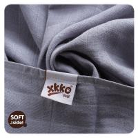 XKKO bambus stofbleer - 3 stk - silver