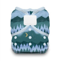 Thirsties duo wrap - velcro - mountain twilight