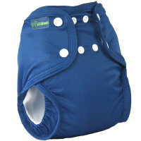 Little Lamb pocket size - denim - fra 16 kg