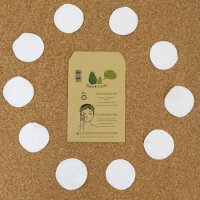 Avo&Cado - økologiske rensepads - 10 stk - hvide