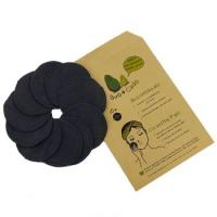 Avo&Cado - økologiske rensepads - 10 stk - sorte