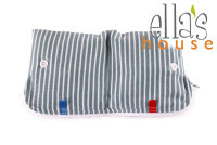 Ella's House wetbag til bind - stripes blue