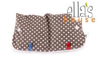 Ella's House wetbag til bind - dots brown