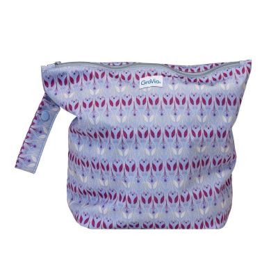 GroVia - wetbag til tur med lynlås og strop - waverly