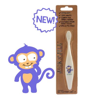Jack N' Jill tandbørste - monkey