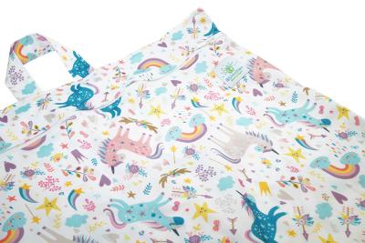 Blümchen - lang wetbag med lynlås og strop - unicorn
