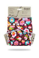 Petit Lulu - formsyet ONESIZE - trykknapper - cupcakes