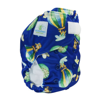 Blümchen onesize lommeble - ballon