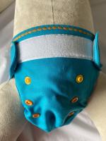 Puppi merino uld cover - mini onesize - velcro - ocean treasures