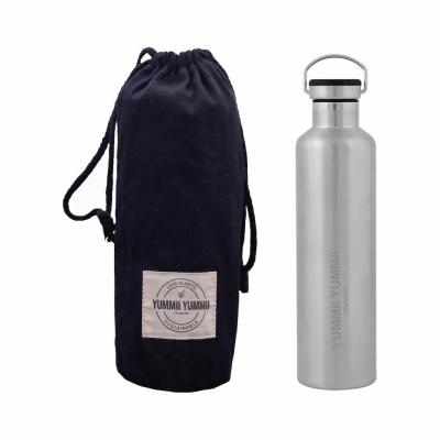 Yummi Yummi Termo Bottle med sort låg - 1000 ml