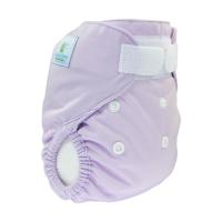 Blecover uden lækagebarriere - nyfødt - lilla