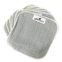 WeeCare - vaskeklude - sakura - dusty - blue - 10 stk