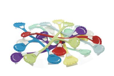 Nappi nippa moderne blesikkerhedsnål - assorterede farver 2 stk