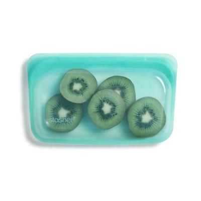 Stasher bag silikone pose - snack - aqua