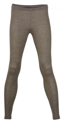 Engel leggings til kvinder i uld/silke - valnød