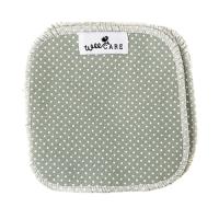 WeeCare - vaskeklude - dots verte - 10 stk