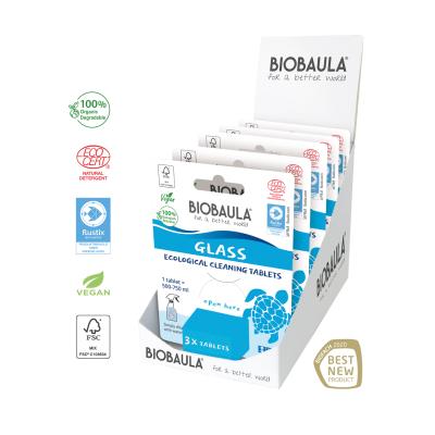 BioBaula økologisk glasrens 3-pak