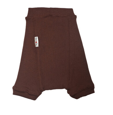 ManyMonths wool shorties - XL - chocolate brown - fra 22 mdr