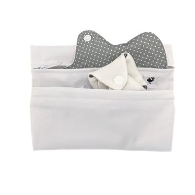 WeeCare wetbag til bind - white