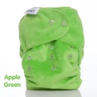 Bambooty AIO basic onesize - bambus - apple green