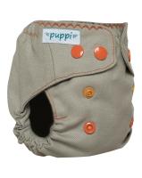 Puppi merino uld cover - newborn - trykknapper - summer wind