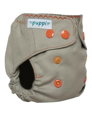 Puppi merino uld cover - newborn - trykknapper - riviera coast