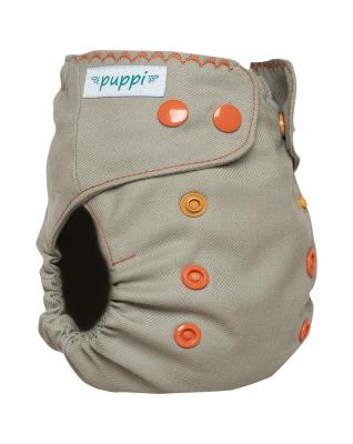 Puppi merino uld cover - onesize PLUS - trykknapper - summer wind