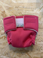 Popolini dukke stofble - pink 1 stk