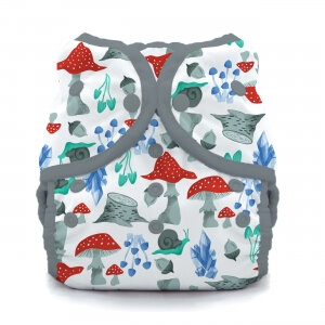 Thirsties duo wrap - trykknapper - forest frolic